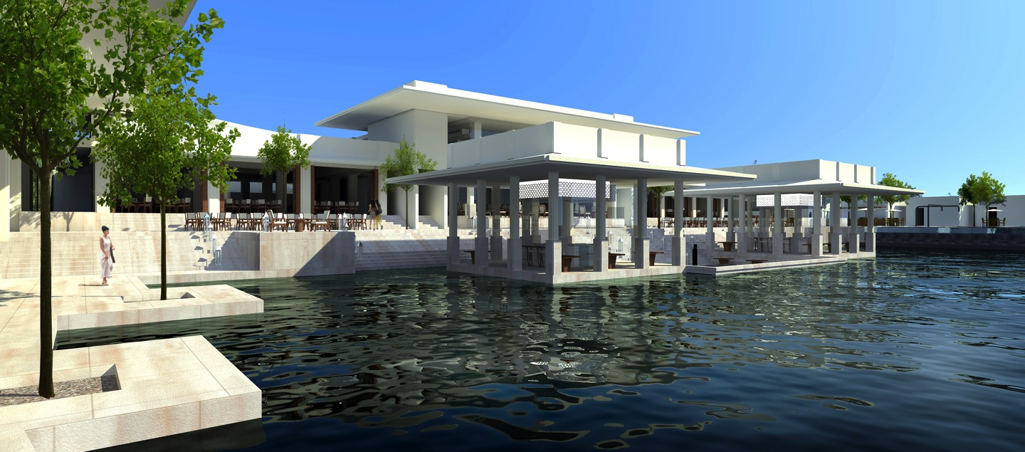 IREO Waterfront Clubhouse